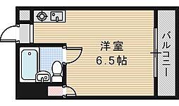 パレユニオン鶴ヶ丘[706号室]の間取り