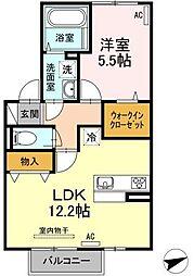 仮)D-room梅満町[203号室]の間取り
