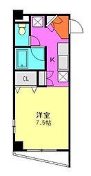 SunPearlNagasawa[5階]の間取り