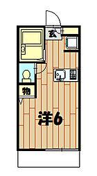 CANVAS・N[102号室]の間取り