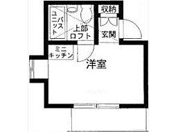 フラワーハイツ高幡不動[2階]の間取り