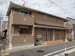 奈良県大和郡山市東岡町の賃貸アパートの外観