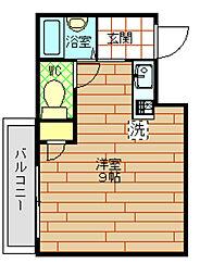 ラムサール8[5階]の間取り