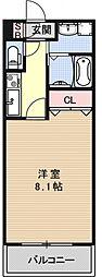 サクシード伏見京町[205号室号室]の間取り