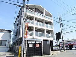 大阪府藤井寺市野中1丁目の賃貸マンションの外観