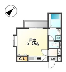 COZY APARTMENT YADA[4階]の間取り