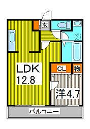 PLUS-D[5階]の間取り