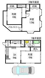 [一戸建] 神奈川県川崎市幸区小倉2丁目 の賃貸【/】の間取り