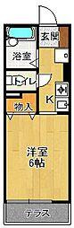 MKハイム[2階]の間取り