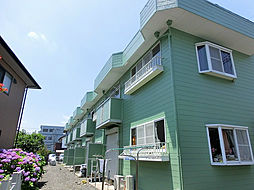 埼玉県吉川市高富1丁目の賃貸アパートの外観