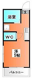サーティ-ワン松本[3階]の間取り
