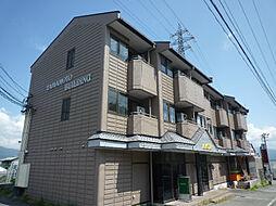 長野県岡谷市神明町4丁目の賃貸アパートの外観