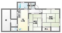 白川台7丁目[3階]の間取り