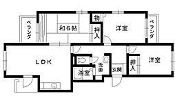 ニューハイム[2階]の間取り