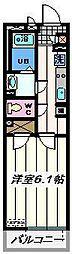 埼玉県越谷市レイクタウン5丁目の賃貸マンションの間取り