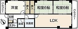 FAON牛田本町 2階3LDKの間取り