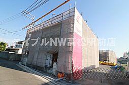香川県高松市三名町の賃貸アパートの外観