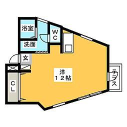 Maison Mirabelle[1階]の間取り