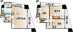 いわきマンションIRIS沢見[5階]の間取り