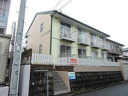 福岡県北九州市八幡西区折尾4丁目の賃貸アパートの外観