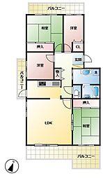サンタウン御屋敷弐番館[3階]の間取り