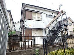 埼玉県上尾市大字久保の賃貸アパートの外観