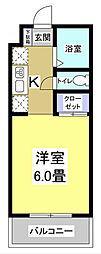 コスモス24[2階]の間取り