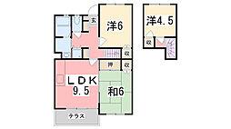 [テラスハウス] 兵庫県神戸市西区北別府1丁目 の賃貸【/】の間取り