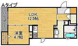 KSC[3階]の間取り