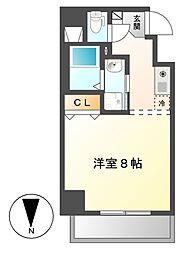 サン・錦本町ビル[4階]の間取り