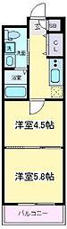 MOCO-05[2階]の間取り