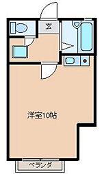 パレロワイヤル[2階]の間取り