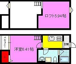 エトワール鴻池[2階]の間取り