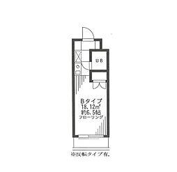 グランティ幡ヶ谷[4階]の間取り