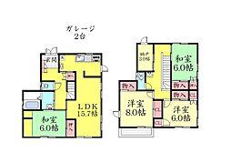 [一戸建] 兵庫県神戸市灘区篠原南町2丁目 の賃貸【/】の間取り