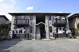 栃木県宇都宮市双葉2丁目の賃貸アパートの外観