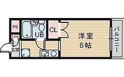 マンションパインハウス[2階]の間取り