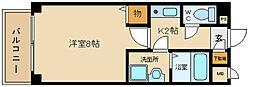 朝風マンション2番館[306号室]の間取り