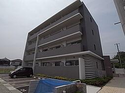 兵庫県姫路市飾磨区山崎の賃貸マンションの外観