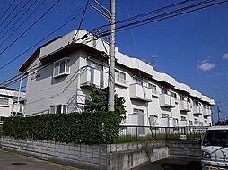 埼玉県春日部市上蛭田の賃貸アパートの外観