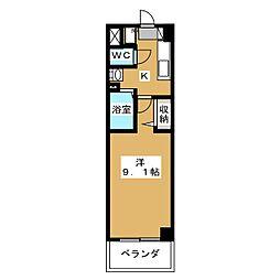 プラネシア星の子京都駅前[7階]の間取り