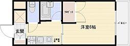 コートハウス中野[3階]の間取り