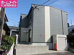愛知県名古屋市天白区土原4丁目の賃貸アパートの外観