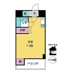 グリーンハイツ東桜[6階]の間取り