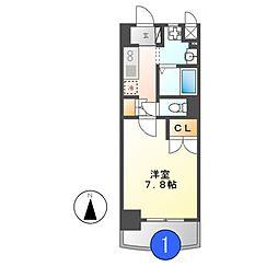 昴名駅南[9階]の間取り