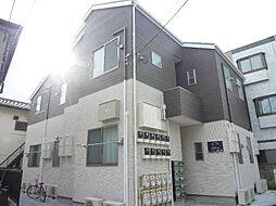 東京都三鷹市井口5丁目の賃貸アパートの外観