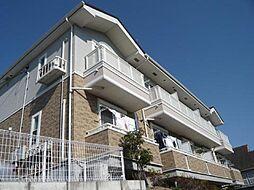 千葉県柏市東山2の賃貸アパートの外観