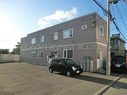 北海道札幌市東区中沼西五条1丁目の賃貸アパートの外観