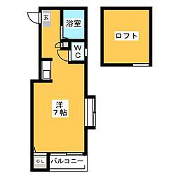 マキシム博多駅南III[1階]の間取り