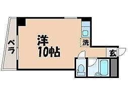 愛媛県松山市三番町1丁目の賃貸マンションの間取り